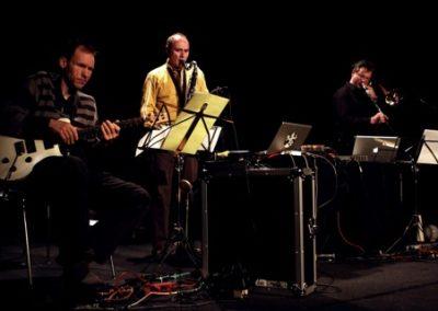 13.02.2009 Denis Beuret, Hans Koch et Vinz Vonlanthen au CPO de Lausanne